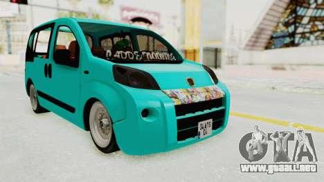 Fiat Fiorino Hellaflush v1 para la visión correcta GTA San Andreas