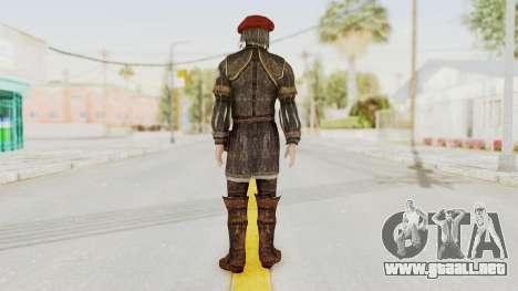 AC Brotherhood - Leonardo Da Vinci Fixed para GTA San Andreas tercera pantalla
