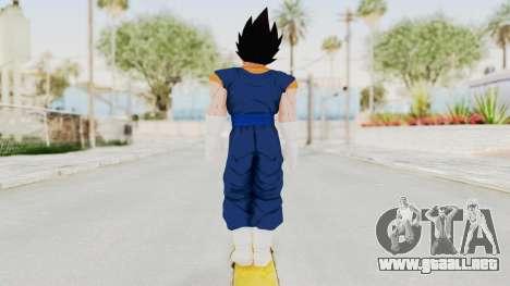 Dragon Ball Xenoverse Vegito SJ para GTA San Andreas tercera pantalla
