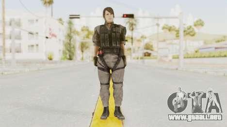 MGSV Phantom Pain Quiet XOF v1 para GTA San Andreas segunda pantalla
