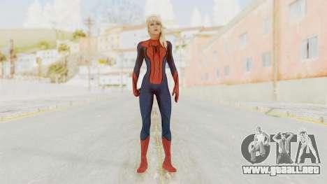 Spider-Girl para GTA San Andreas segunda pantalla