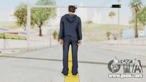 Captain America Civil War - Peter Parker para GTA San Andreas tercera pantalla