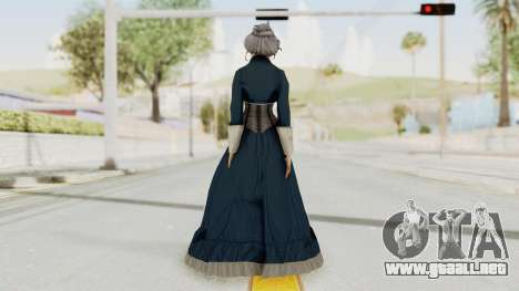 Bioshock Infinite Elizabeth Old para GTA San Andreas tercera pantalla