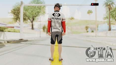 GTA 5 Cyclist 1 para GTA San Andreas tercera pantalla
