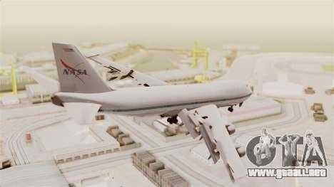 Boeing 747-123 NASA para GTA San Andreas left