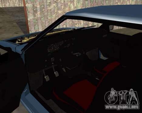 VAZ 2108 para las ruedas de GTA San Andreas