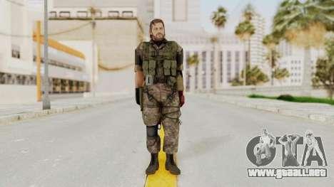 MGSV The Phantom Pain Venom Snake No Eyepatch v6 para GTA San Andreas segunda pantalla