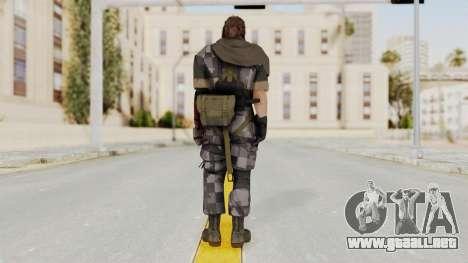 MGSV The Phantom Pain Venom Snake Scarf v7 para GTA San Andreas tercera pantalla