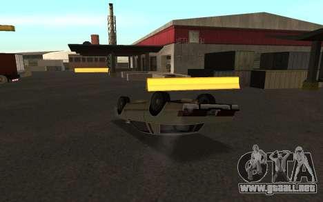 Flip machine para GTA San Andreas tercera pantalla