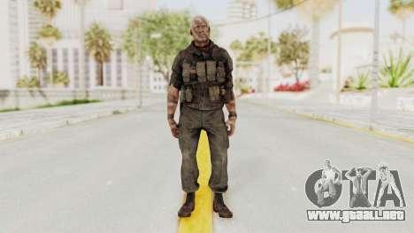 COD Black Ops 2 Hudson Commando para GTA San Andreas segunda pantalla