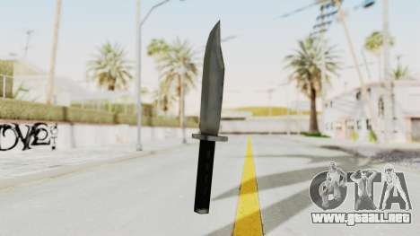 Liberty City Stories - Knife para GTA San Andreas segunda pantalla