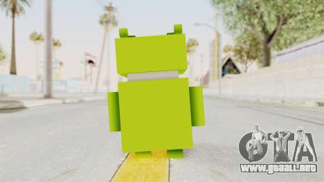 Crossy Road - Android Robot para GTA San Andreas tercera pantalla