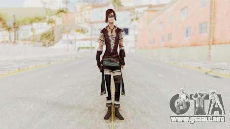 AC Brotherhood - Courtesan Elite Costume para GTA San Andreas segunda pantalla