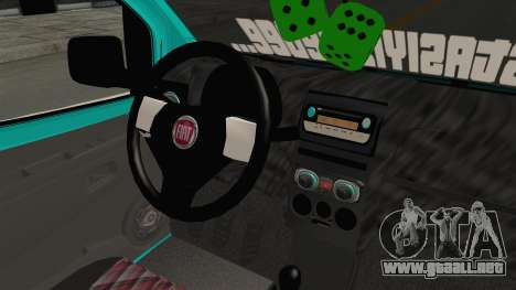 Fiat Fiorino v2 para visión interna GTA San Andreas