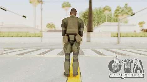 MGSV Ground Zeroes MSF Medic para GTA San Andreas tercera pantalla