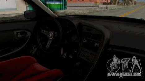 Toyota Celica GT Drift Falken para visión interna GTA San Andreas