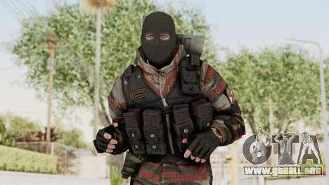 Battery Online Russian Soldier 5 v2 para GTA San Andreas