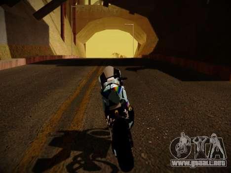 Yamaha YZR M1 2016 Rainbow Dash para la visión correcta GTA San Andreas