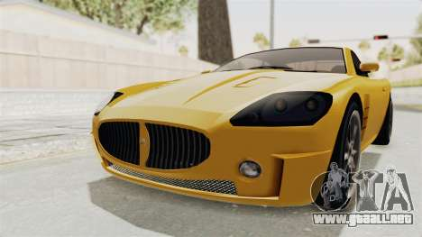 GTA 5 Ocelot F620 SA Lights para GTA San Andreas