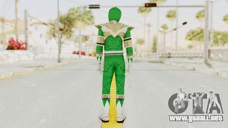 Mighty Morphin Power Rangers - Green para GTA San Andreas tercera pantalla