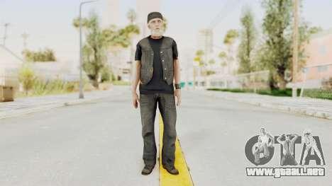 Alan Wake - Tor Anderson para GTA San Andreas segunda pantalla