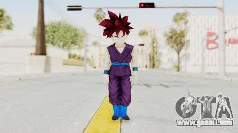 Dragon Ball Xenoverse Gohan Teen DBS SSG v1 para GTA San Andreas segunda pantalla