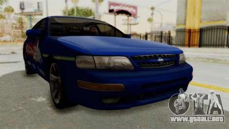 Nissan Maxima SE 1997 Fast N Furious para la visión correcta GTA San Andreas