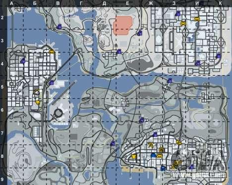 El interior de STO San Fierro para GTA San Andreas tercera pantalla