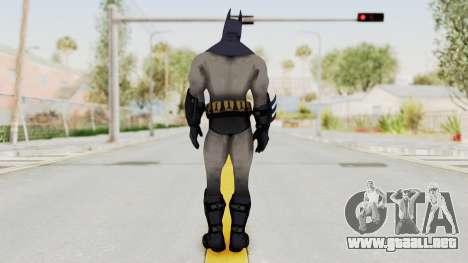 Batman Arkham City - Batman v2 para GTA San Andreas tercera pantalla