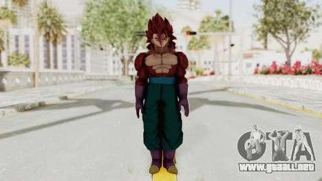 Dragon Ball Xenoverse Vegito SSJ4 para GTA San Andreas segunda pantalla
