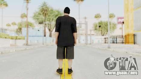 GTA 5 Online Male Skin 2 para GTA San Andreas tercera pantalla
