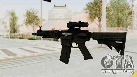 M4A1 SWAT para GTA San Andreas segunda pantalla