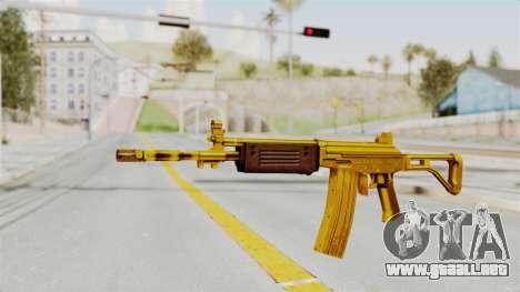 Galil Gold para GTA San Andreas