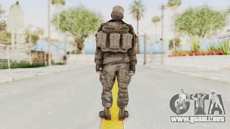 COD BO SOG Mason v2 para GTA San Andreas tercera pantalla