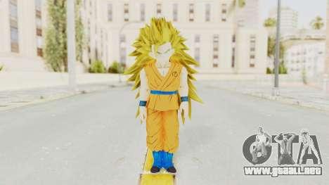 Dragon Ball Xenoverse Gohan Teen DBS SSJ3 v2 para GTA San Andreas segunda pantalla