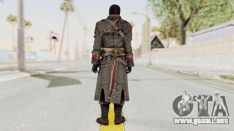 Assassins Creed Rogue - Shay Cornac para GTA San Andreas tercera pantalla
