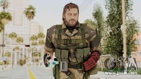 MGSV The Phantom Pain Venom Snake No Eyepatch v2 para GTA San Andreas