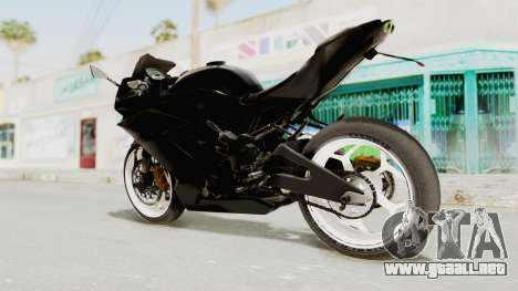 Kawasaki Ninja 250RR Mono Sport para GTA San Andreas left