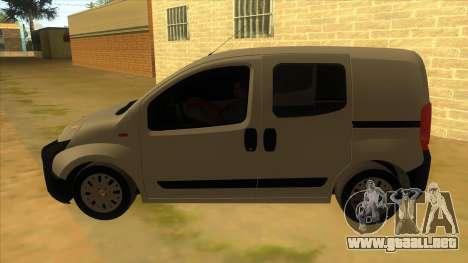 Fiat Fiorino Combi Mix para GTA San Andreas left