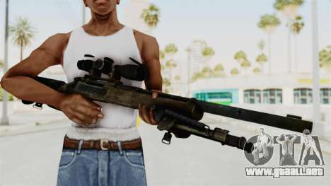 M24 Sniper Ghost Warrior para GTA San Andreas