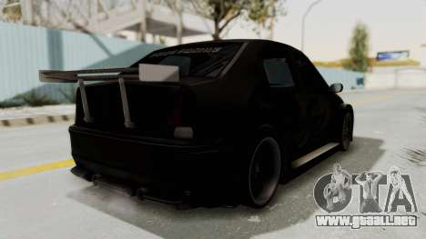 Dacia Logan Loco Tuning para la visión correcta GTA San Andreas