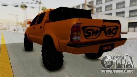 Toyota Hilux 2010 Off-Road Swag Edition para GTA San Andreas left