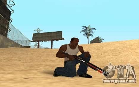 Shotgun Cyrex para GTA San Andreas segunda pantalla