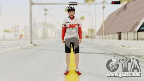 GTA 5 Cyclist 1 para GTA San Andreas segunda pantalla