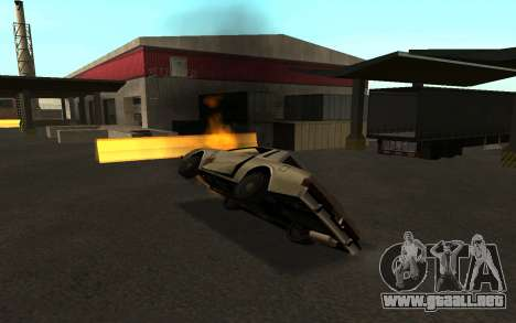 Flip machine para GTA San Andreas quinta pantalla