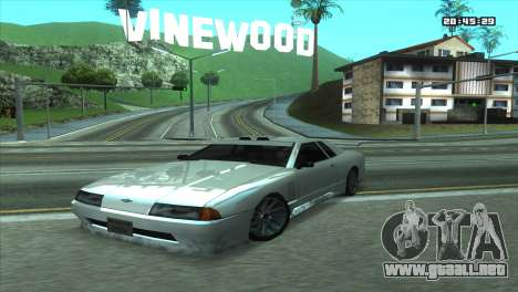 ENB Double FPS & for LowPC para GTA San Andreas tercera pantalla