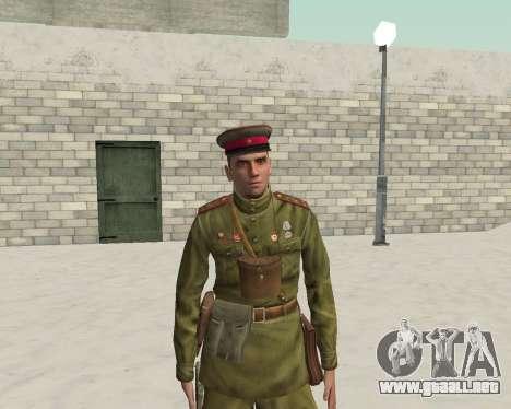 Pak combatientes del ejército rojo para GTA San Andreas