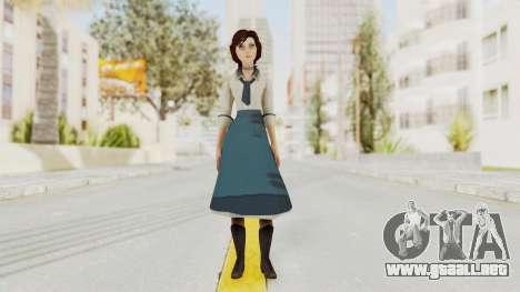 Bioshock Infinite Elizabeth Student para GTA San Andreas segunda pantalla