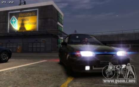 VAZ 2113 Final para GTA 4 vista hacia atrás