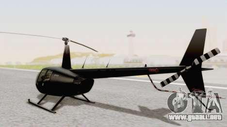 Helicopter de la Policia Nacional del Paraguay para GTA San Andreas left